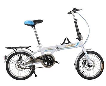 Nueva bicicleta plegable para niños Bike Girl / Boy Pedal Bike 4 - Juguete de 12