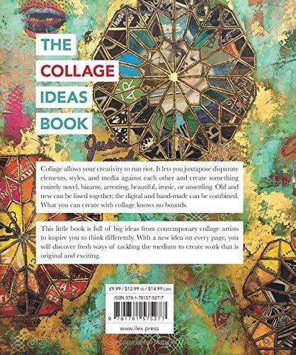the collage ideas book the art ideas books alannah moore 9781781575277 amazoncom books