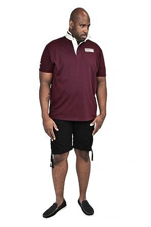 1832378c848 Duke D555 Mens King Size Nash Rugby Polo Shirt Burgundy - Size - 2XL:  Amazon.co.uk: Clothing