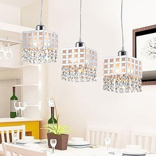 DINGGU Modern Pendant Kitchen Island Lighting Chandelier 3 Lights