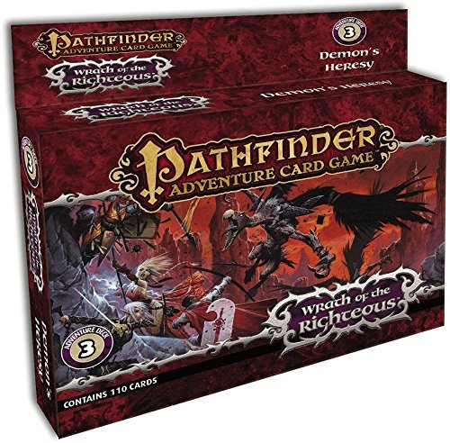 Pathfinder Adventure Card Game: Wrath of the Righteous Adventure Deck 3 - Demon's Heresy by Mike Selinker (2015-08-18)