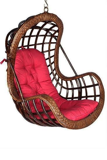 IRA Rattan Modest Swing Chair.