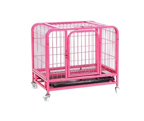 Jaulas para perros, perros pequeños Perro mediano Jaula para mascotas Puppy con ruedas 60 *