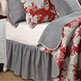 Greenland Home Lorraine Bed Skirt, Full