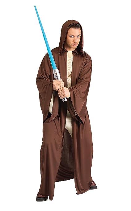 Disfraz Rubies de la Guerra de las Galaxias para hombre, túnica Jedi estilo 1, estándar, talla 44