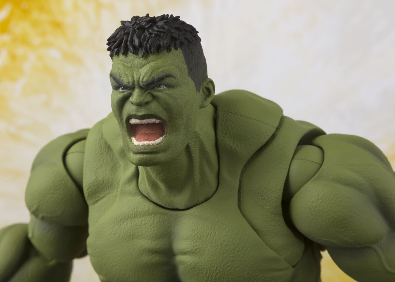 Avengers: Infinity War Tamashii Nations S.H.Figuarts Hulk Infinity War Action Figure Bandai Avengers