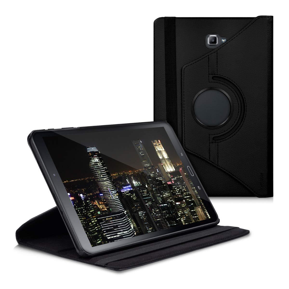 kwmobile 40447.01 Funda para Samsung Galaxy Tab A 10.1 (S-Pen) (cuero sintético, 360 grados) negro: Amazon.es: Informática