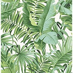 A-Street Prints 2744-24136 Alfresco green Palm Leaf Wallpaper Alfresco Palm Leaf Wallpaper
