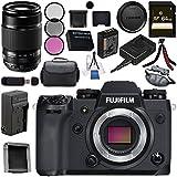Fujifilm X-H1 Mirrorless Digital Camera (Body Only) 16568731 XF 55-200mm f/3.5-4.8 R LM OIS Lens 16384941 Bundle