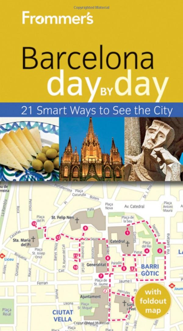 Frommers Barcelona Day Pocket product image