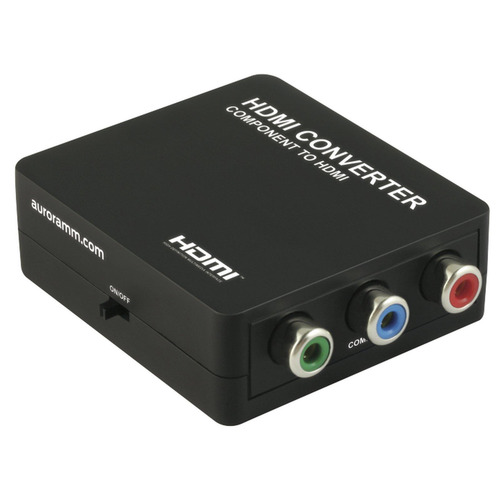 Aurora MCX-CTH   Component YPbPr to HDMI Converter