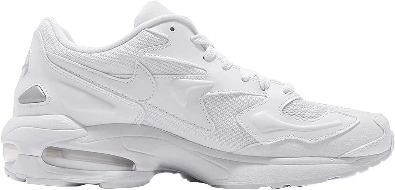 Nike Air Max2 Light, Chaussures d'Athlétisme Homme Off White 102