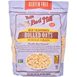 Bob's Red Mill Gluten Free Old Fashion Rolled Oats (32 Ounce, Pack of 3)