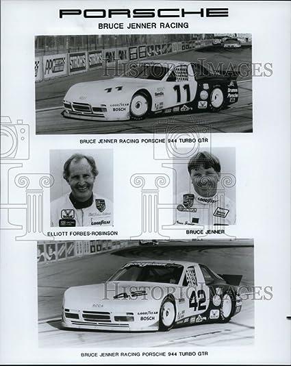 Vintage Photos Press Photo Bruce Jenner Racing Porsche 944 Turbo GTR - orc08921