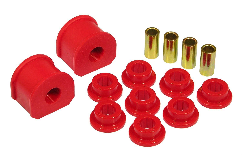Prothane 6-1145 Red 21 mm Rear Sway Bar Bushing Kit