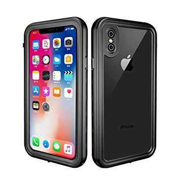 ede1b281172 redpepper iPhone X/XS Funda Sumergible, Carcasa Impermeable [Antigolpes]  Protección 360º [Certificado IP68] Resistente al Agua [Funda Extrema]  Compatible ...