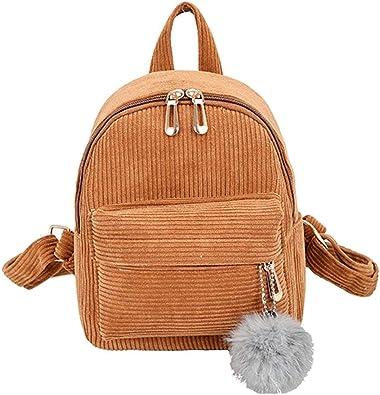 Dasein Women Handbags Colorful Backpack Shoulder School Soft Bags Rucksack