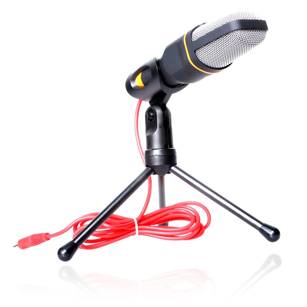 VIMVIP Professional Condenser Skype Audio Sound Podcast Microphone Mic PC Laptop Karaoke Studio with Stand Shock Mount for Laptop PC Computer NEXTANY 6461973