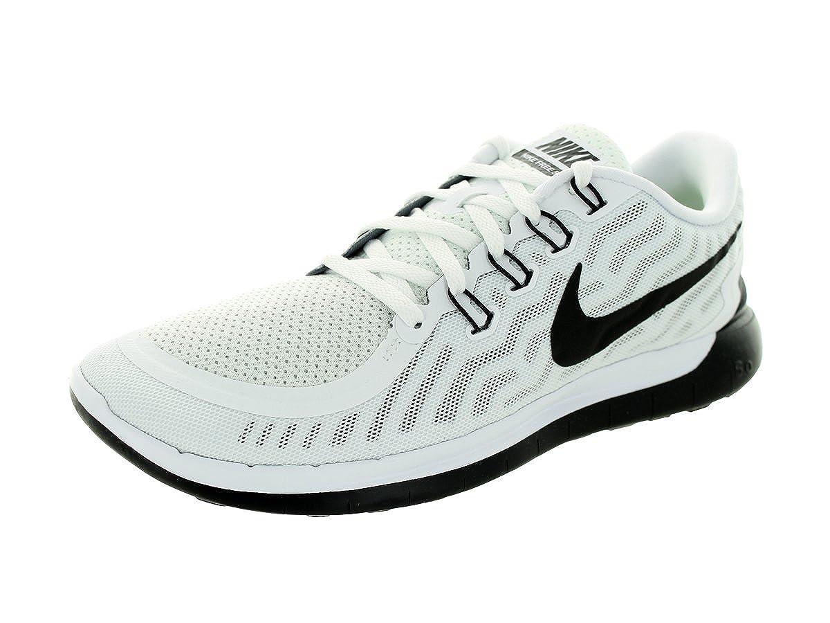 brand new 79f2f 7aada Nike Men s Free 5.0 White Black Running Shoe 7.5 Men US  Amazon.de  Schuhe    Handtaschen
