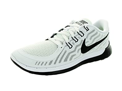 Weekend Discount - Nike Men's Free 5.0 Running Shoes White/Black 724382-100