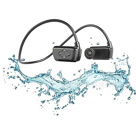 Kangdu88 Auricular Bluetooth Impermeable IPX8, Auriculares estéreo ...