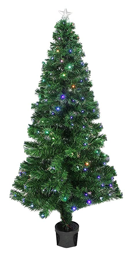 Free giveaway fiber optic christmas tree 5 ft