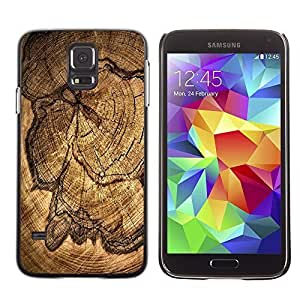 GagaDesign Phone Accessories: Hard Case Cover for Samsung Galaxy S5 - Wood Pattern