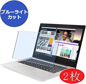 """【2 Pack】 Synvy Anti Blue Light Screen Protector for Lenovo ideapad 130s 14"""" Screen Film Protective Protectors [Not Tempered Glass]"""