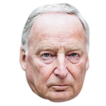 Alexander Gauland Máscaras de personajes famosos, caras de carton