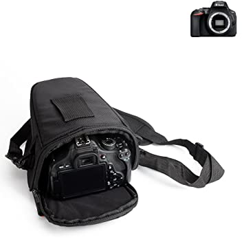 K-S-Trade para Nikon D5600: Bolsa per Camera DSLR/SLR/DSLM/Bridge ...