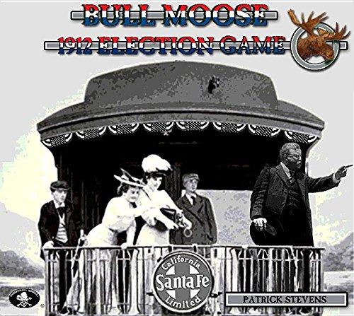 Numbskull Games Bull Moose 1912 Election Board Game -