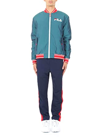 Fila Vintage Friars Tearaway High Waisted Track Pant | Peacoat/Red ...