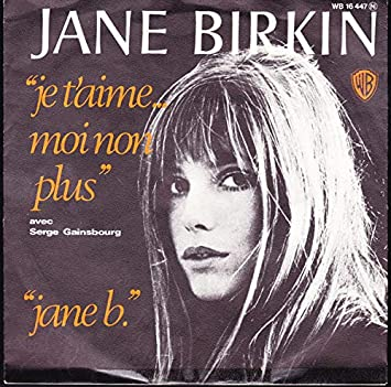 Jane Birkin Avec Serge Gainsbourg - Je T'aime ... Moi Non Plus / Jane B. - Warner Bros. Records - WB 16 447