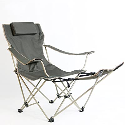 Chaise Pliante Camping Repose Pied Plage Chasse En Plein Air Peche