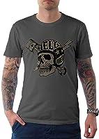 t-shirt tête de mort luxe 3