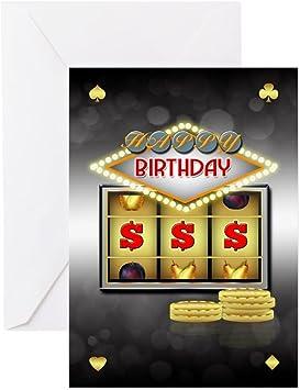 Slot machine birthday card war at jackson casino