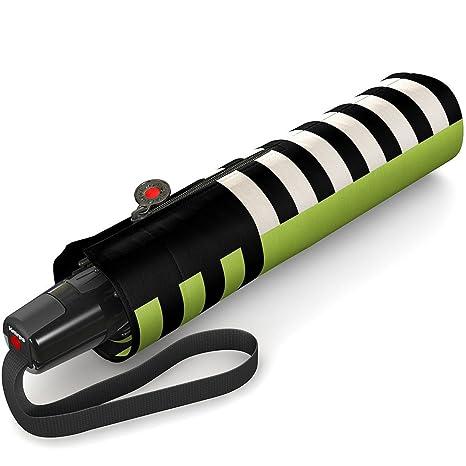 Knirps paraguas Fiber T2 Duo Matic Contrast, verde (Verde) - 898786435
