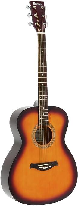 Guitarra Western LUKE con funda para guitarras, color sunburst ...