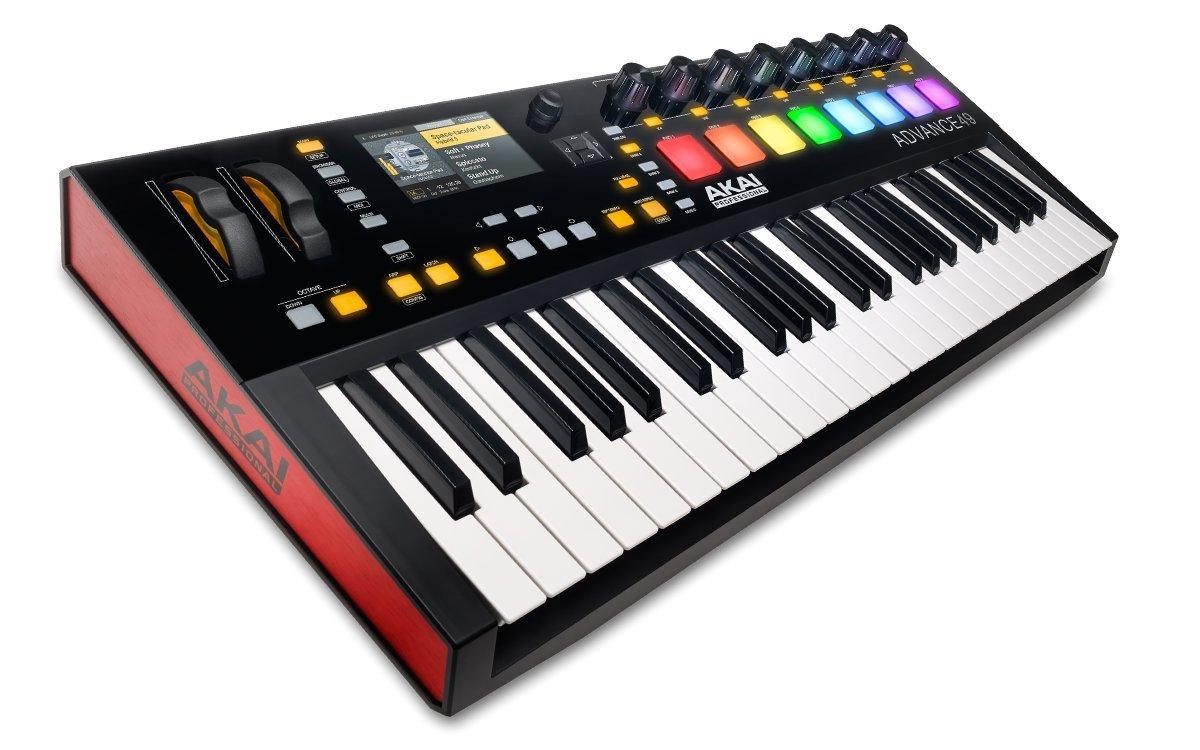 【お得】 Akai LCDディスプレイ Professional USB MIDIキーボード 61鍵 LCDディスプレイ 61鍵 1万音源 49鍵 VIPソフト付属 ADVANCE 61 B00SHLU7E8 49鍵 49鍵, GREEN RIBBON:e57a06b6 --- choudeshwaripatpedhi.com