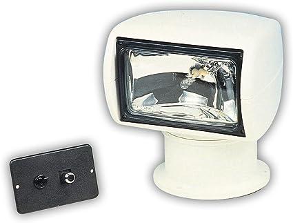 Jabsco 60020 Series 135sl Marine Remote Control Halogen Searchlight Joystick Control 100000 Cp
