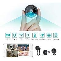 Innoo Tech WiFi Mini Hidden Spy Camera HD 1080P Wireless Portable Small Camera with Motion Detection and Night Version Home Security Cameras Nanny Cam Video Recorder
