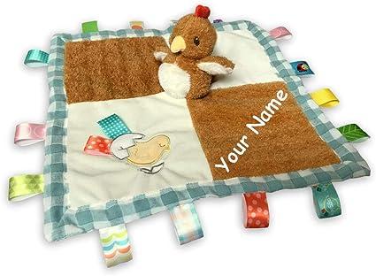 Fawn Deer Taggie Animal Blanket Personalized Security Blanket Baby Blankie