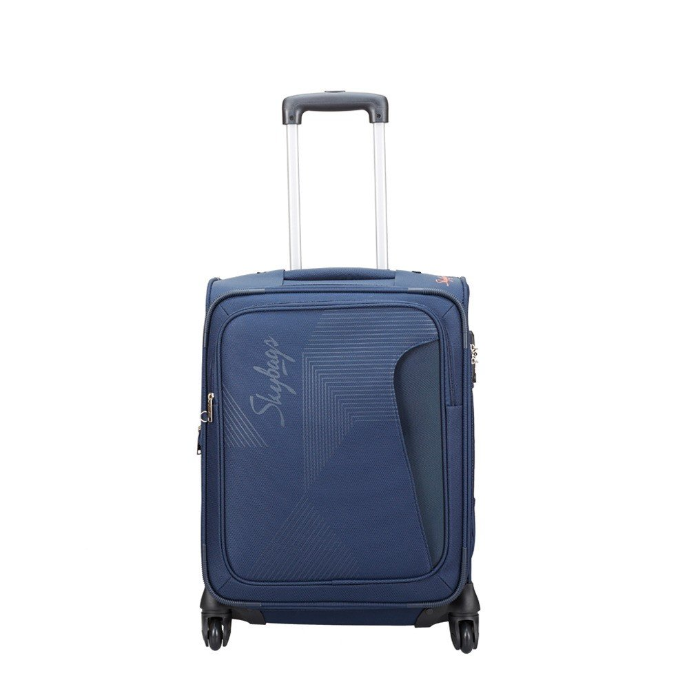 Skybags Footloose Hamilton 55 Cms Blue Softsided Carry-On