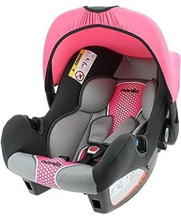 Rosa bis13 kg  Sitzpolster Sonnendach Babyschale Osann BeOne SP Gruppe 0
