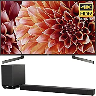 """Sony Bravia XBR55X900F 55"""" 4K HDR HLG and Dolby Vision UHD TV 3840x2160 & Sony HTST5000 7.1.2Ch 4K HDR Compatible 800W Dolby Atmos Soundbar"""