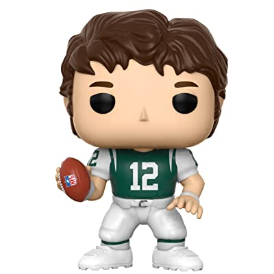 Funko POP NFL: Joe Namath (Jets Home) Collectible Figure: Funko Pop! Sports:: Toys & Games