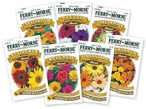 Ferry Morse Annual Flower Garden Outdoor/Garden/Yard Maintenance (Patio & Lawn upkeep)