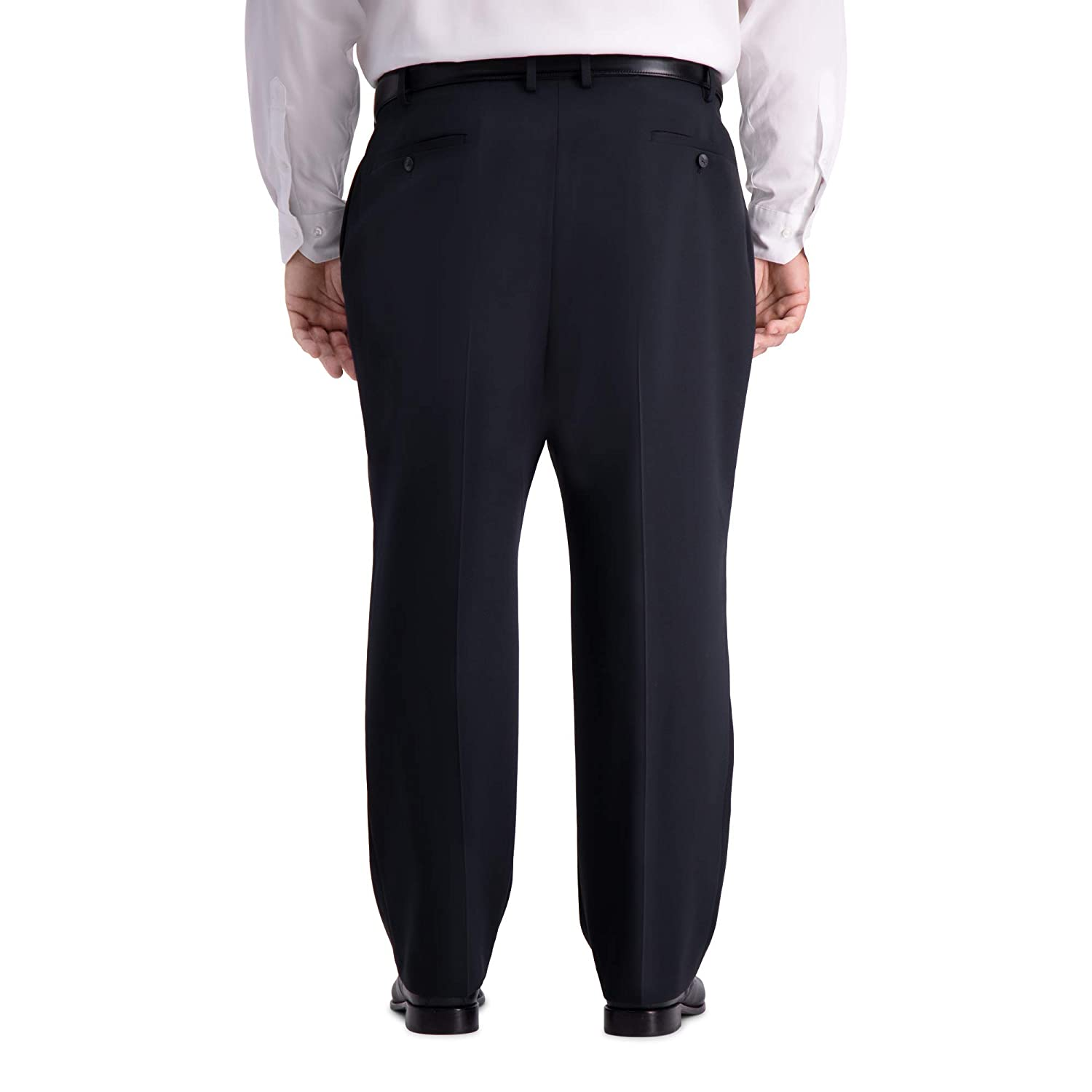 Haggar Mens Big and Tall B/&t Active Series Stretch Classic Fit Suit Separate Pant