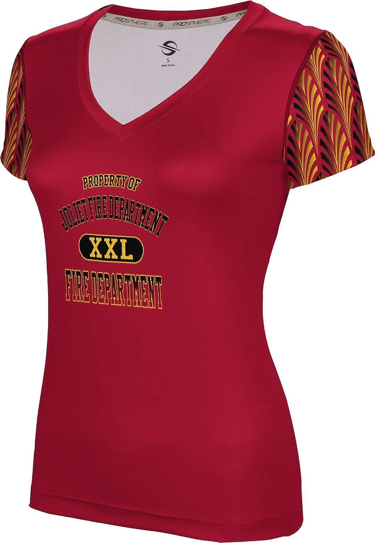 ProSphere Women's Joliet Fire Department Deco SL V-Neck Training Tee