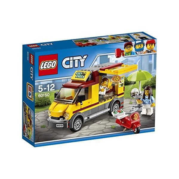 LEGO- City Furgone delle Pizze, Multicolore, 60150 4 spesavip